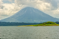 Crossing Lake Arenal to Arenal Volcano